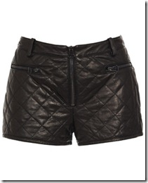 3.1 PHILLIP LIM quilted leather shorts