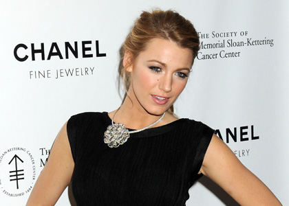 With a stunning body and a striking face, Blake Lively (Serena from Gossip