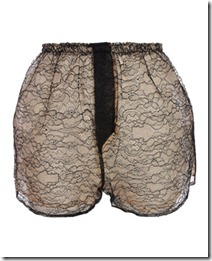 house of holland lace shorts