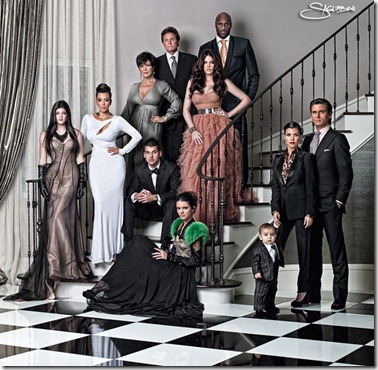 kardashian christmas card. The Kardashians Christmas Card