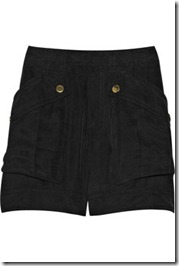Marc by marc jacobs patton brushed- silk shorts