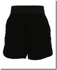 T BY ALEXANDER WANG ribbed shorts