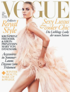Vogue Germany - Maryna LinchukCover