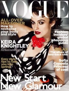 Vogue UK keira knightley