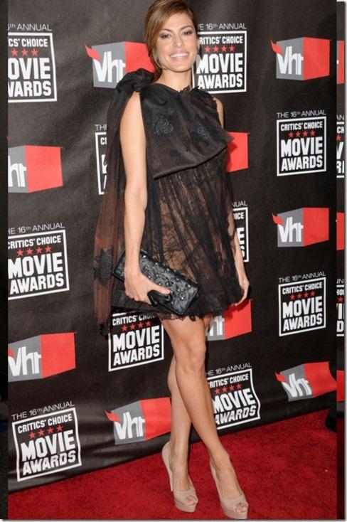 Eva Mendes in Valentino