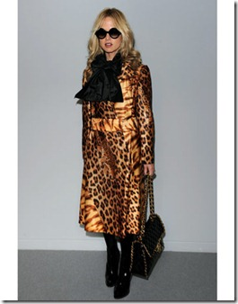 Rachel Zoe attends the Fendi Milan Fashion Week Autumn/Winter 2010 show on February 25, 2010 in Milan, Italy.