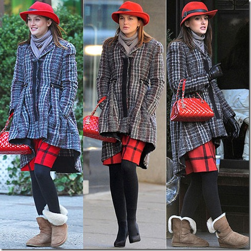 Leighton-Meester-filming-Gossip-Girl-in-New-York