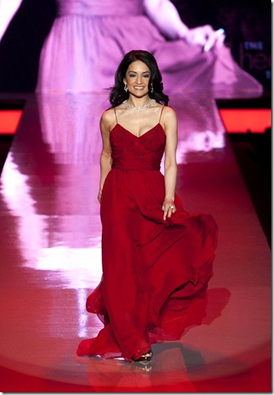 nfw red dress runway 3 100211